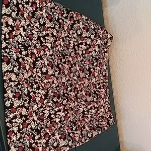 "Ann Taylor "" Loft"" Floral Skirt"